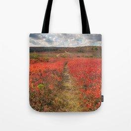 Autumn Huckleberry Trail Tote Bag