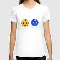 boob T-shirts featuring boob baby by M☽☾n Babies