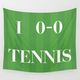 I heart Tennis Wall Tapestry