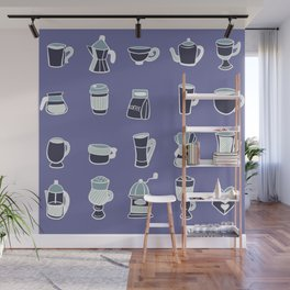 Coffee Crazy in Iced Wall Mural