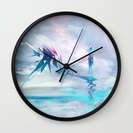 Symbiosis game concept art Wall Clock