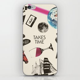 Jim Guthrie Takes Time 80s Design iPhone Skin