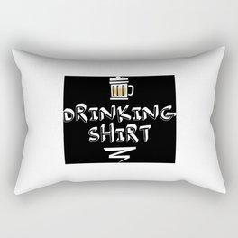DRINKING SHIRT Rectangular Pillow