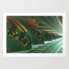 Cannon Battery (Basic) Art Print