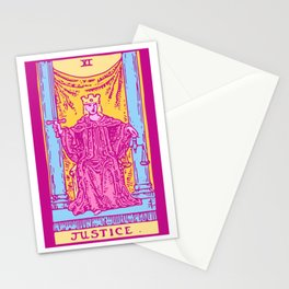Justice - A Femme Tarot Card Stationery Cards