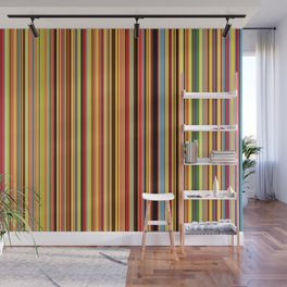 Old Skool Stripes - Bold - Extra Wide Wall Mural