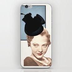Hat Lady iPhone & iPod Skin