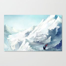 Adventure with you Canvas Print