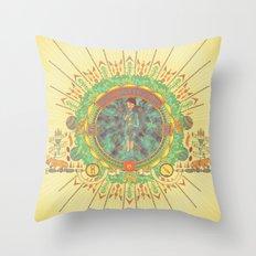 Open Your Conscious.  Throw Pillow