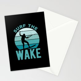 Funny Wakeboard Quote Stationery Cards