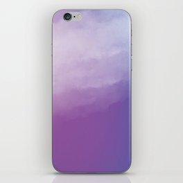 Watercolor (purple) iPhone Skin