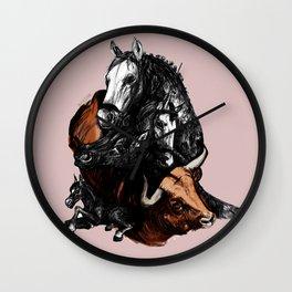 I don´t like bullfights (c) 2017 Wall Clock