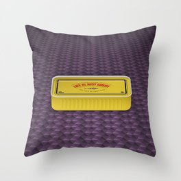 Life Is Just Great On Low Budget Too Throw Pillow