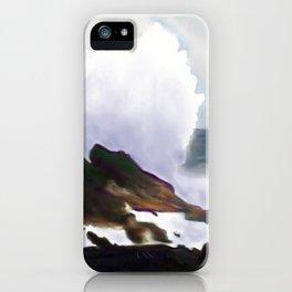 Hawaiian Cliff iPhone Case