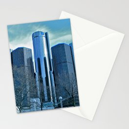 Detroit Renaissance Center (Ren Cen) GM Headquarters Stationery Cards