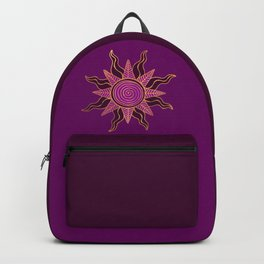Sun King's Delight - Amethyst Backpack