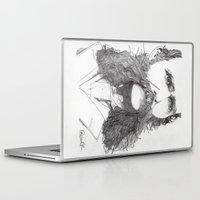 moustache Laptop & iPad Skins featuring Moustache by Paul Nelson-Esch Art