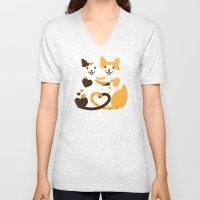 Lovecats Unisex V-Neck