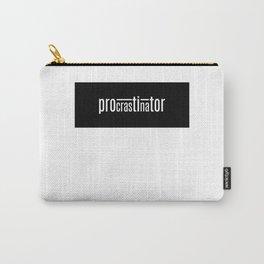 Procrastinator Carry-All Pouch