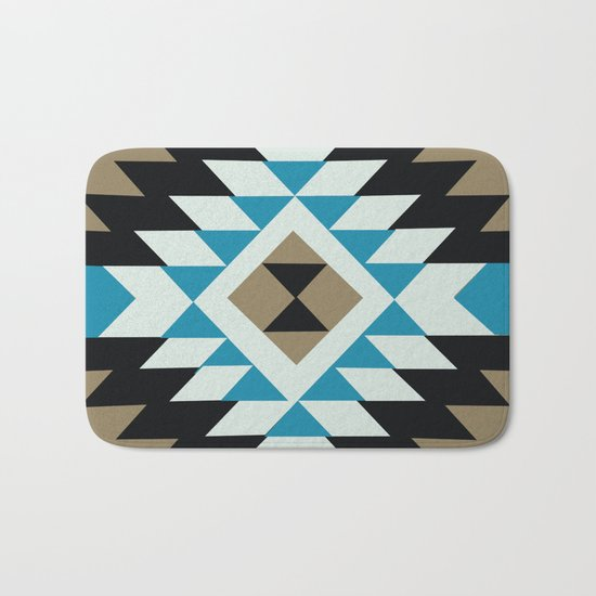 American Native Pattern No. 25 Bath Mat