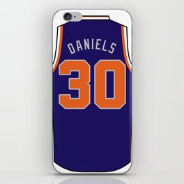 Troy Daniels Jersey iPhone Skin
