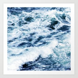 Each Wave Brings You CLOSER To the Shore Art Print