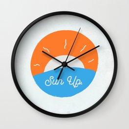 Sun Up Wall Clock