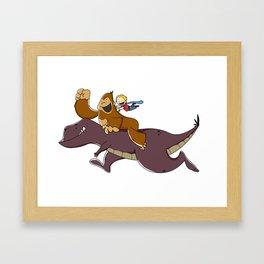 Dino Kade Framed Art Print