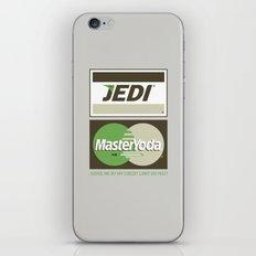 Brand Wars: Jedi Master Yoda iPhone & iPod Skin