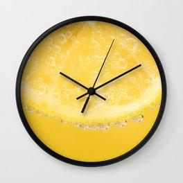 Yummy Lemon Wall Clock
