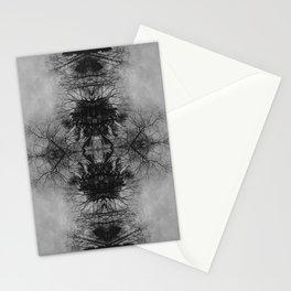 Symmetrical Branch Mandala Stationery Cards