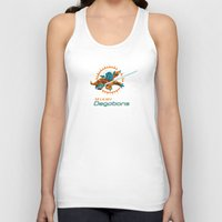 nfl Tank Tops featuring Miami Degobans - NFL by Steven Klock