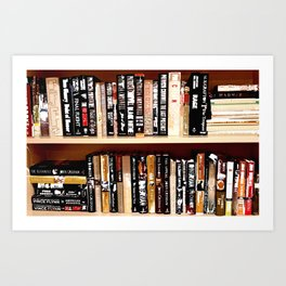 Books3 Art Print