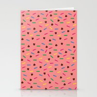 dessert Stationery Cards featuring Dessert by olive yuvencia
