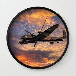 Avro Lancaster Bomber Wall Clock