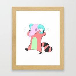 Whoopsie Framed Art Print