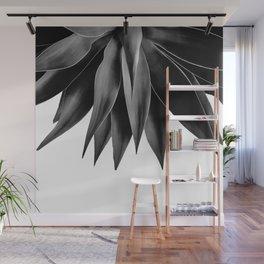 Agave fringe - noir Wall Mural