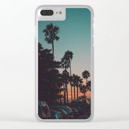 californian Clear iPhone Case