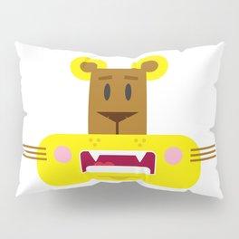 Cute Cartoon Lioness Pillow Sham