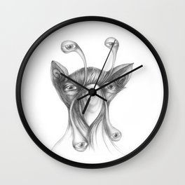 shoclops on nightwatch Wall Clock
