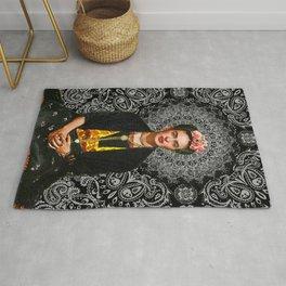 Frida Kahlo 4  Rug