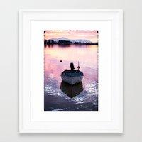 boat Framed Art Prints featuring Boat by Dora Birgis