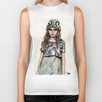 ben giles Biker Tanks featuring Cara for Giles 14/15 by vooce & kat