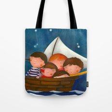 At the sea Tote Bag