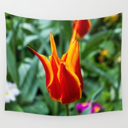 Love Wall Flower Wall Tapestry