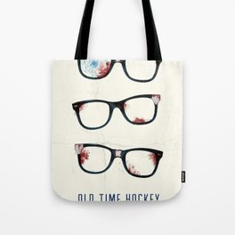 Slapshot - Old Time Hockey Tote Bag