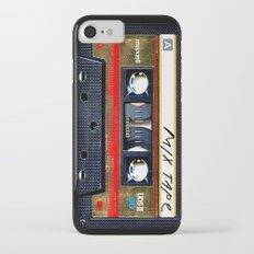 Retro cassette mix tape iPhone 7 Slim Case