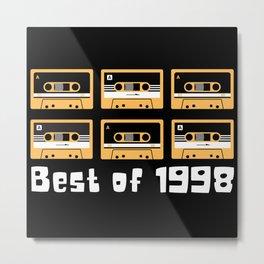 Best of 1989 Kassetten und Retro Metal Print