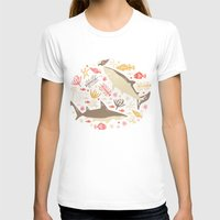 vector T-shirts featuring Oceanica by Anna Deegan