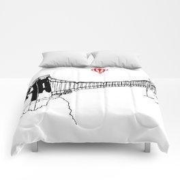 Clifton Bridge   Comforters